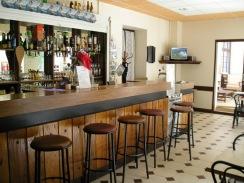 Bar de l'auberge de la Vallée d'Ossau